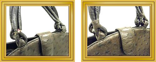 リペア例167:修理箇所: 持ち手、肩ひも汚れ取り、修理・交換