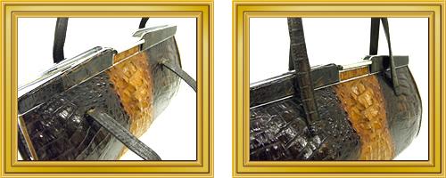 リペア例173:修理箇所: 持ち手、肩ひも汚れ取り、修理・交換
