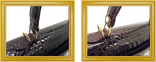 リペア例175:修理箇所: 持ち手、肩ひも汚れ取り、修理・交換