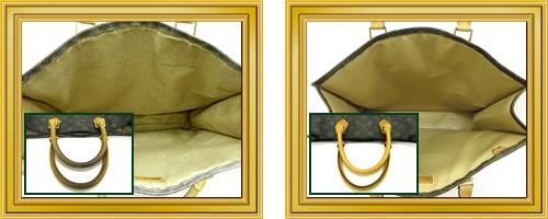 リペア例200:修理箇所: ブランドバッグ修理・お直し