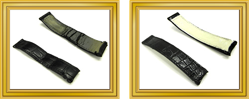 リペア例203:修理箇所: 時計ベルトの作り替え